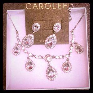 High-end fashion jewelry set